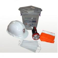 Deprem Kiti Box Acil Durum (11LT) Renk Şeffaf