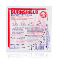 BURNSHİELD Steril Yanık Sargısı 100mm X 100mm & Burnshield Dressing 100mm x 100mm (4″x4″)