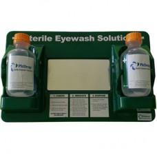 PİTDROP İkili Göz Duşu Duvar Panosu Aparatsız 2*500ml Sodium Cloride 0,9%.