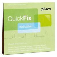 PLUM 5513 Quıckfıx Dolum Paketi Yedek Plaster Detectable Mavi Algılanabilir