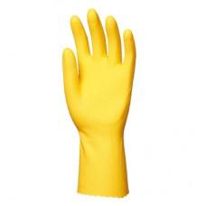 EUROTECHNIQUE 5030 Latex Kaplı Kauçuk Eldiven 30cm Renk Sarı