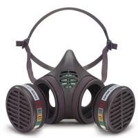 Moldex 8000 Yarım Yüz Maskesi Çift Filtre Takılabilir
