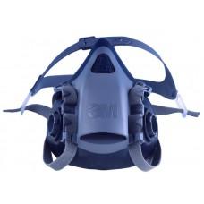 3M 7503 Yarım Yüz Maskesi Çift Filtre Takılabilir Büyük Boy