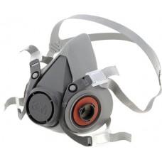 3M 6200 Yarım Yüz Maskesi Çift Filtre Takılabilir Orta Boy