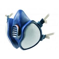 3M 4251 Yarım Yüz Organik Gaz / Buhar Maskesi (FFA1P2D)