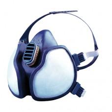 3M 4279 Yarım Yüz Organik-İnorganik-Asit-Amonyak Gaz / Buhar Maskesi (FFABEK1P3D)
