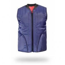 Soğuk Hava Depo Yeleği SHD Kolsuz Renk Lacivert & Cold Storage Vest SHD Sleeveless Color Navy Blue