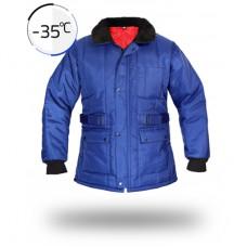 Soğuk Hava Depo Ceketi SHD Bel Sıkmalı Lacivert & Cold Storage Jacket SHD Waist Tight Navy Blue