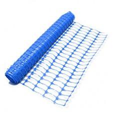 Emniyet Alan Perdesi Mavi Renkli & Safety Fence