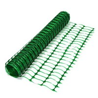 Emniyet Alan Perdesi Yeşil Renkli & Safety Fence