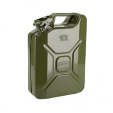 Metal Benzin Bidonu Metal 10lt