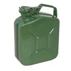 Metal Akaryakıt Benzin Bidonu Renk Yeşil 5LT.