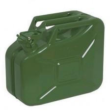 Metal Akaryakıt Benzin Bidonu Renk Yeşil 10LT.