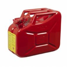 Metal Akaryakıt Benzin Bidonu Kırmızı 10LT.