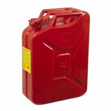 Metal Akaryakıt Benzin Bidonu Kırmızı 20LT.
