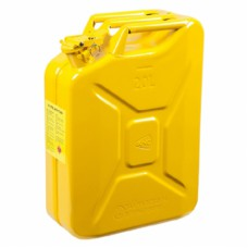 Metal Akaryakıt Benzin Bidonu Sarı 20 LT.