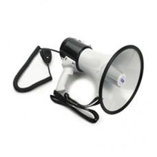 EMS Megafon El Tipi 32 Waat Sirenli El Mayklı + Şarjlı (Pilli)