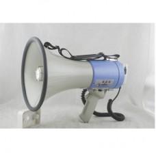 Denox LSM 250 - 25Watt Megafon El Mayklı / Sirenli USB/SD Mp3 Player (Pilli)