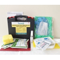 Enfeksiyöz Acil Durum Atık Temizlik Kiti (Body fluid clean-up kit)
