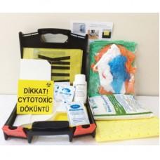 Sitotoksit Kemoterapi Tusorb  Acil Durum Dökülme Kiti(CYTOTOXİC SPİLL KİT)