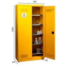 Kimyasal Madde Saklama Dolabı (5) Izgaralı 7455
