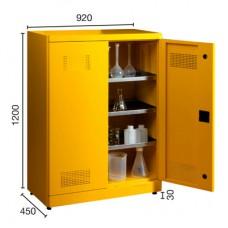 Kimyasal Madde Saklama Dolabı (3) Izgaralı 7460