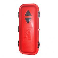 Yangın Tüpü Dolabı (6kg) Plastik Kırmızı-Siyah & FIRE TUBE CABINET
