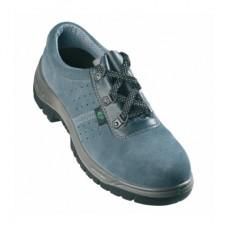 9SUN Coverguard İş Ayakkabısı Çelik Buurn-Tabanlı Süet Delikli S1-P