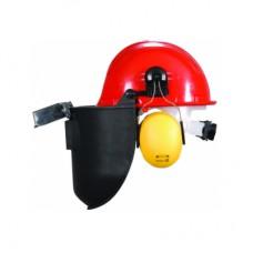Essafe Vidalı Baret + Kulaklık + Slotlu Kaynak Maskesi GE 1280-5