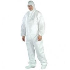 Tidy Professional Proof Su Geçirmez Antistatik Koruyucu Tulum 60gr Renk Beyaz