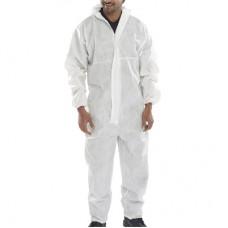 Tek Kullanımlık Lamineli Sıvı Geçirmez Tulum Renk Beyaz 50gr