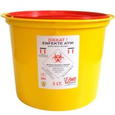 Tıbbi Enfekte Atık Kovası (4.0lt)