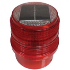 Delinatör Üstü Güneş Enerjili Flaşör Lamba Kırmızı