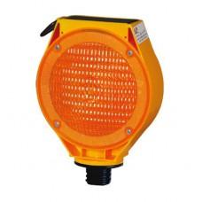 Güneş Enerjili Flaşörlü Uyarı Lambası (Sarı Gövdeli) FL 100