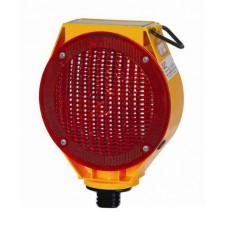 Güneş Enerjili Flaşörlü Uyarı Lambası (Kırmızı Gövdeli) FL 101