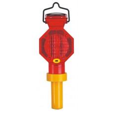 Güneş Enerjili Flaşör Lamba (Kırmızı Gövdeli) FL 103