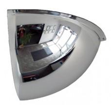 60cm Kubbesel Çeyrek Akrilik Ayna