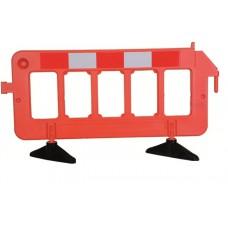 Portatif Panel Bariyer Kırmızı