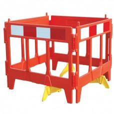 Güvenli Çalışma Bariyeri Renk Kırmızı