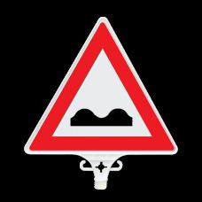 UT 2806 Kasisli Yol Uyarı Levhası Çift Yön 380mm