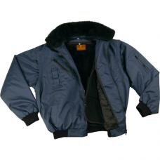 """Pilot Ceket & Mont Kürk Yakalı """"Lacivert"""""""