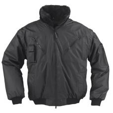 "Pilot Ceket & Mont Kürk Yakalı ""Siyah"""