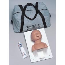 """Yenidoğan Bebek Entübasyon Eğitim Maketi CPR """"Simulaids"""""""