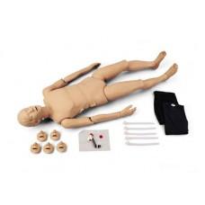 "Eğitim Maketi Yetişkin Tam Boy Elektronik Kontrol Panelli CPR ""Simulaids"""