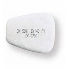 3M 5911 P1 Katı & Sıvı Toz ve Sis Zerrecik Filtresi