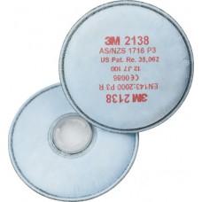 3M 2138 P3 Organik Ozon Gaz Buhar Filtresi