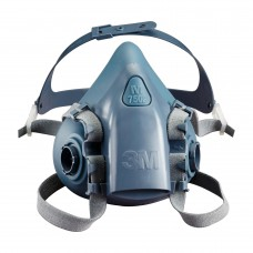 3M 7502 Yarım Yüz Maskesi Çift Filtre Takılabilir Orta Boy