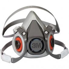 3M 6300 Yarım Yüz Maskesi Çift Filtre Takılabilir Büyük Boy