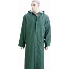 Yağmurluk Pvc Pardesü Yeşil