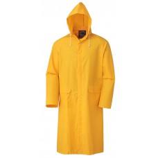 Yağmurluk Pvc Pardesü Sarı